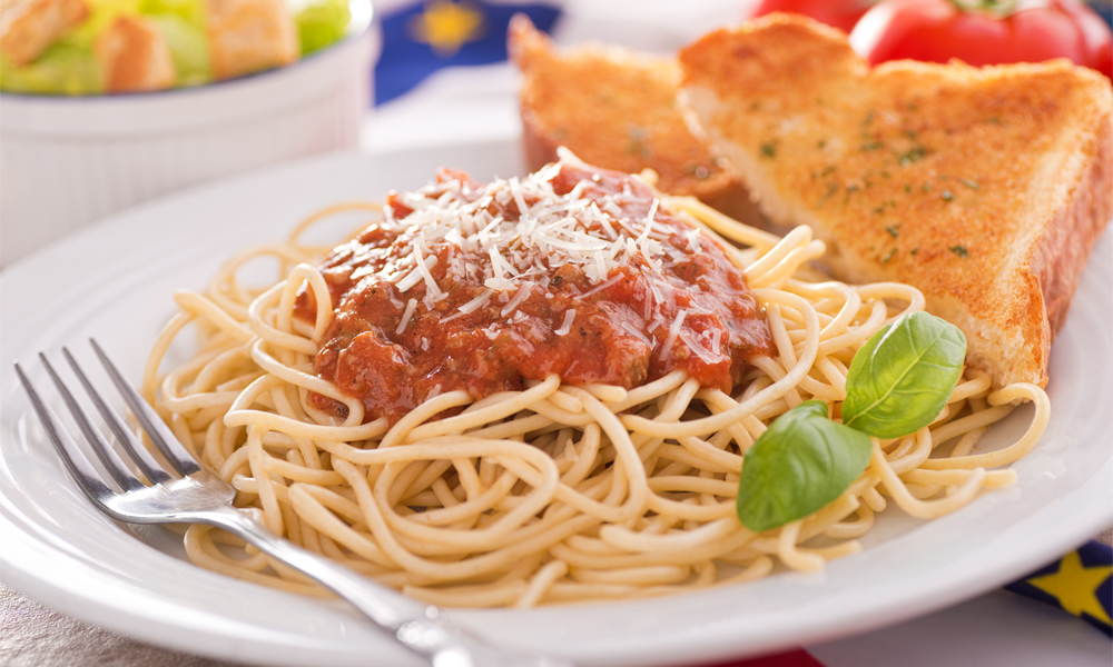 Fun family recipe for Spaghetti with Quick Meat Sauce